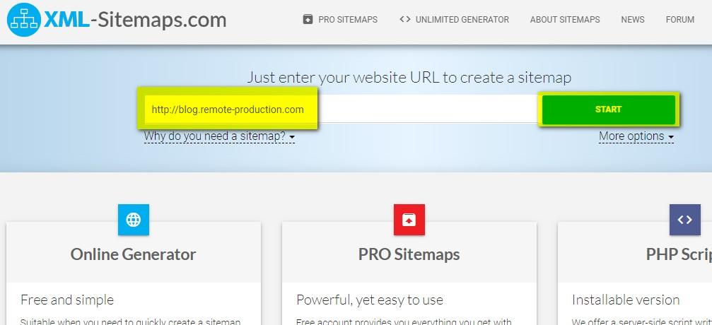 xml-sitemapsの使い方